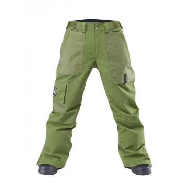 Męskie Spodnie Snowboardowe Westbeach Kamikaze Green