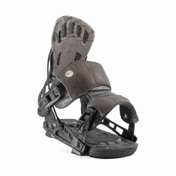 Męskie wiązania snowboardowa Flow NX2-GT Charcoal