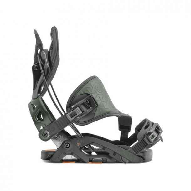 Flow Fuse-GT Hybrid Blackt Snowboard binding