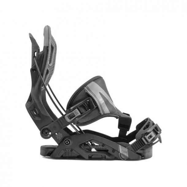 Wiązania Snowboardowa Flow Fuse Hybrid Black