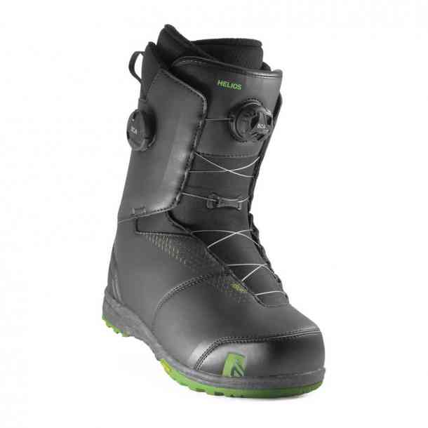 Nidecker Helios Boa Focus Black Snowboard Boots