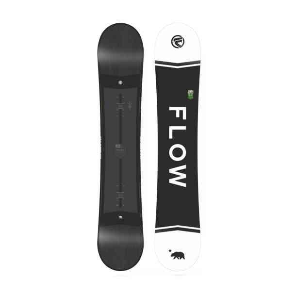Deska Snowboardowa Flow Merc Black