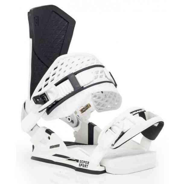 Wiązania Snowboardowa Drake Super Sport White