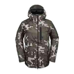 Volcom Deadly Stones Camo snowboard jacket