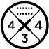 W komplecie uniwersalne dyski mocujące do desek wymagających montażu wiązań czterema oraz trzema śrubami