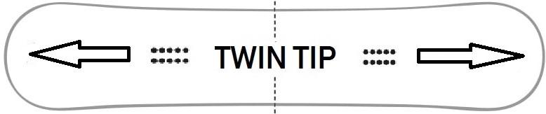 Symetryczna deska przeznaczona głównie do freestylu, która ma taką samą długość nosa i ogona co sprzyja jeździe na switch. Ustawiając niewielki setback można bez przeszkód zanurzyć się też w puchu.