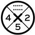 Ta kombinacja 5 par insertów rozmieszczonych co 2 cm to standard w branży, dostosowany do współpracy ze wszystkimi wiązaniami dostępnymi na rynku. Rekomendowany stance to środkowa para insertów.
