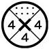 Standardowe mocowanie wiązań na bazie klasycznych dysków. W zależności od rodzaju deski, można przymocować wiązania za pomocą dwóch, trzech lub czterech śrób.
