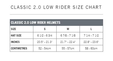 Tabela rozmiarów Classic 2.0
